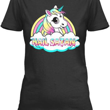 Unicorn Hail Satan Death Metal Rainbown