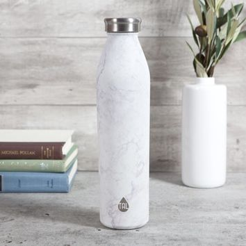 Tal 20oz Stainless Steel Double Wall Vacuum Insulated Modern Water Bottle-Marble - Walmart.com
