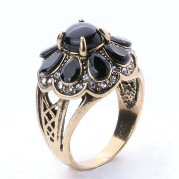 new hot women vintage retro old copper ring womens fashion casual jewelry unique best gift girl rings 34 2
