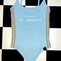 SWEET LORD O'MIGHTY! WES ANDERSON BODYSUIT IN BABYBLUE