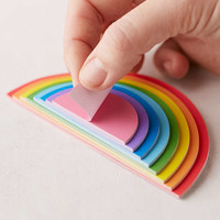 Mustard Gifts Rainbow Desk Notepad - Urban Outfitters