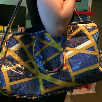 Retro Airline Carpet Travel Bag, DragonCon inspired, Limited Edition