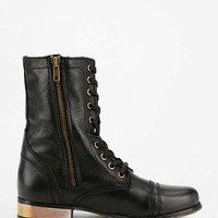 Steve Madden Troopa Plated Lace-Up Boot - Urban Outfitters