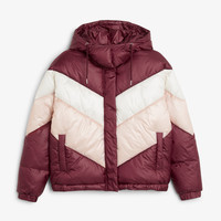 Monki | 80s fresh | Hooded puffer jacket