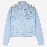 Crystal Denim Jacket - Shop All Sale - Sale