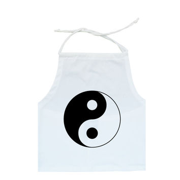 ying yang HALTER TOP crop t shirt strappy womens fun tumblr hipster swag grunge goth 90s retro indie high festival boho logo symbol peace