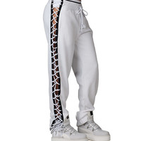 Puma Fenty LAcing Sweat Pant (White) - 57340102-100 | Jimmy Jazz