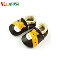 [Eudemon] So Cute Giraffe Newborn Infant Baby Shoes First Walkers Cow Leather Soft Soled For Baby Girl Shoes Zapatillas
