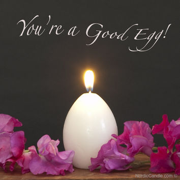The Good Egg Candle