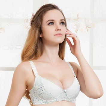 breastfeeding bra maternity underwear cotton nursing bra pregnant women underwear maternity bra lace underwire cup B