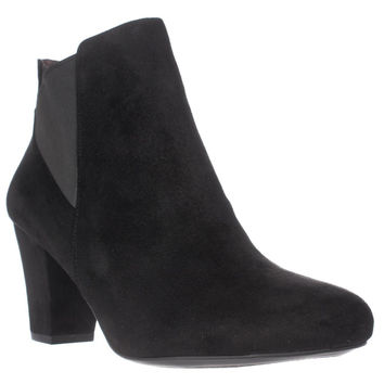 BCBGeneration Dolan Heeled Chelsea Ankle Boots, Black, 11 US