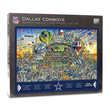 Dallas Cowboys Find Joe Journeyman 500-piece Puzzle