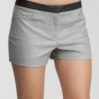 Metallic Houndstooth Short
