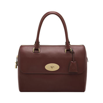 Del Rey in Oxblood Silky Nappa | Women's Bags | Mulberry