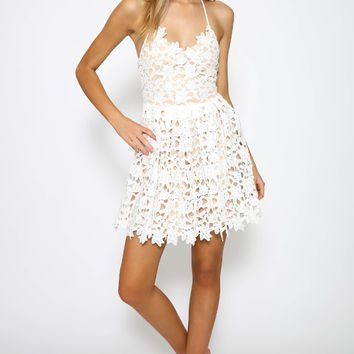 Two Sisters - Elektra Dress - White