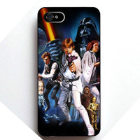 Vintage Style Star Wars iPhone Case
