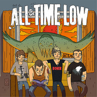 All Time Low Don't Panic Poster