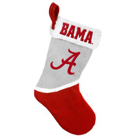 Alabama Crimson Tide Basic Holiday Stocking - 2015