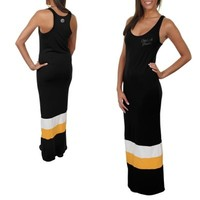 '47 Brand Pittsburgh Steelers Ladies Maxi Dress - Black