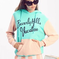 Beverly Hills Vacation Cuddles Hoodie