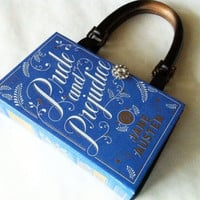 Pride and Prejudice Book Purse by NovelCreations on Etsy