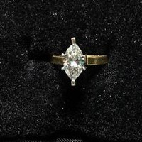 vintage yellow gold diamond ring | eBay
