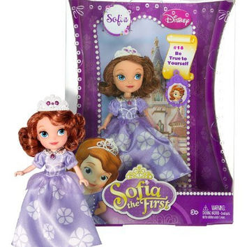 "Sofia the First ~5"" Doll - Disney Sofia the First Series: #18 Be True to Yourself"