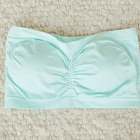 Totally Necessary Bandeau Light Mint