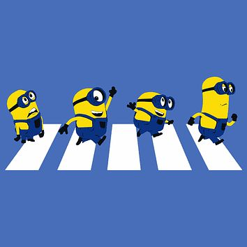 Minions Abbey Road T-Shirt