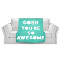 Artistic Velveteen Throw Blanket | Rachel Burbee | Awesome |