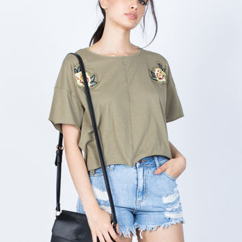 Perfect Pair Floral Tee