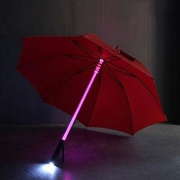 MDIGOK2 OPAL FERRIE - LED Night Protection Light Saver Umbrella