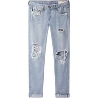 Rag & Bone Jean Distressed Boyfriend Jean