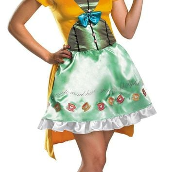Mad Hatter Sassy Adult 4-6 Costume
