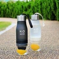 My Water Bottle plastic Fruit infusion bottle Infuser Drink Outdoor Sports