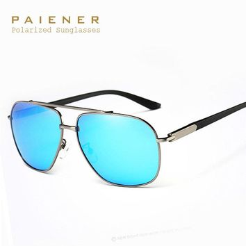 Aluminum Polarized Sunglases Men Sports Vintage Driving Sun Glases Male Eyewear UV400 Mirror spectacles Gafas De Sol Accessories