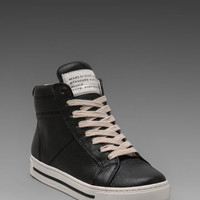 Marc by Marc Jacobs Glazed High Top Sneaker in Black from REVOLVEclothing.com