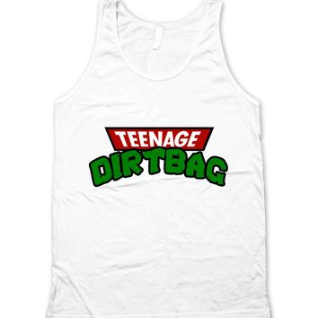Teenage Dirtbag Retro 90's Cartoon Unisex Tank Top