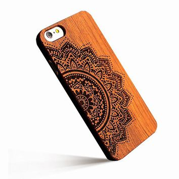 Retro Real Wood Phone Cases For iPhone 7 & 7 Plus
