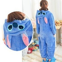 New Kigurumi Fancy Hoodie Animal Unisex Costume Pajamas from Fashion4you