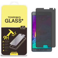 Privacy Tempered Glass Screen Protector for Samsung Galaxy Note 4