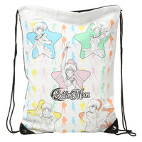Sailor Moon Scouts Cinch Back Sack
