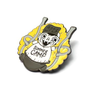 The Official Summer Camp x Junk Yard 'Toxic Cannonball' Pin