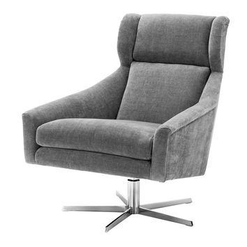 Grey Swivel Chair | Eichholtz Nara