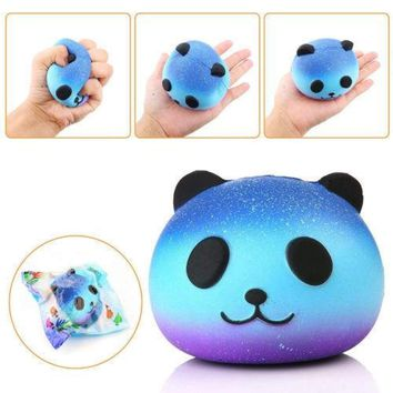 Galaxy Star Jumbo Panda Cream Scented Squishy Slow Rising Squeeze Kid Toy Kawaii