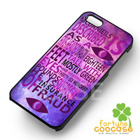 Welcome to Night Vale quotes on nebula eyes -EnLs for iPhone 4/4S/5/5S/5C/6/6+,samsung S3/S4/S5/S6 Regular/S6 Edge,samsung note 3/4