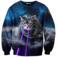 Sir Lazer Eyes Crewneck