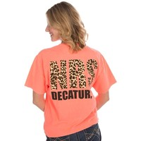 Shop Women's NRS Coral Tee with Cheetah Logo