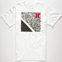 Hurley Force Rubix Mens T-Shirt White  In Sizes