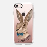 Mr Hare Is Faster iPhone 7 Case by Barruf | Casetify